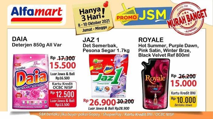 Promo JSM Alfamart 8-10 Oktober 2021: So Klin Royale Refill 800ml hanya Rp 15.000
