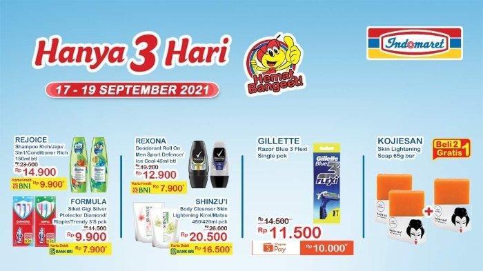 Promo JSM Indomaret 17-19 September 2021: Kojiesan Skin Lightening Soap 65gr Bar Beli 2 Gratis 1