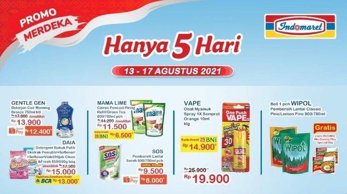 Promo Merdeka Indomaret 11-17 Agustus 2021: Mama Lime Pencuci Piring 780 ml hanya Rp 6.500
