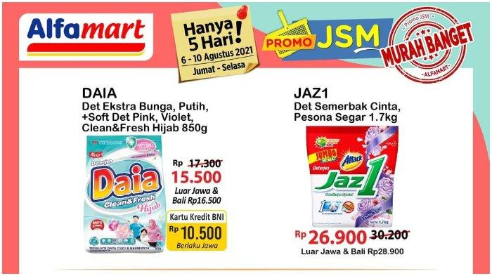 MASIH BERLAKU! Promo JSM Alfamart Periode 6-10 Agustus 2021: Daia Detergen 850g Hanya Rp 10.500