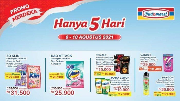Hari Terakhir! Promo Merdeka Indomaret 6-10 Agustus 2021: Royale Softener 800ml hanya Rp 10.000