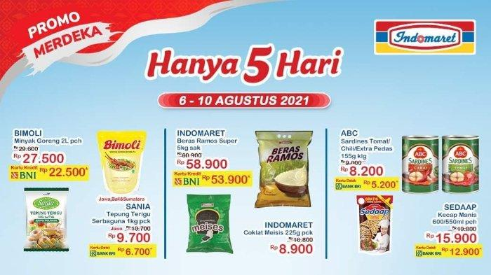 Promo Merdeka Indomaret Hanya 5 Hari, 6-10 Agustus 2021: Tepung Terigu Sania 1 Kg hanya Rp 6.700