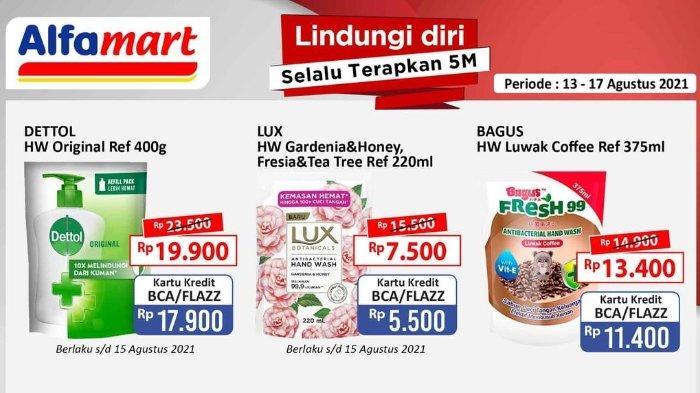 Promo Spesial Merdeka Alfamart 13-17 Agustus 2021 Masih Berlaku: Lux Hand Wash 220ml hanya Rp 5.500
