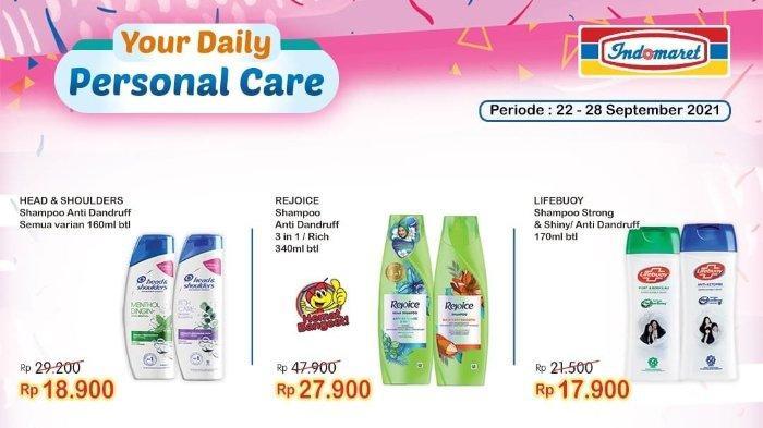 Besok Terakhir! Promo Super Hemat Indomaret 28 September 2021: Rejoice Shampoo 340ml hanya Rp 27.900