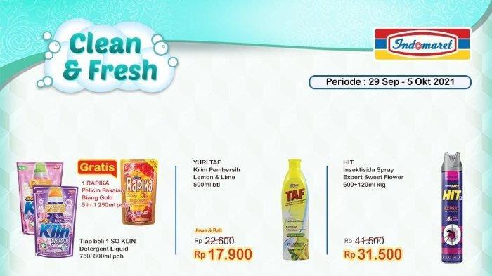 Promo Indomaret Super Hemat 29 September hingga 5 Oktober 2021: Beli Soklin Liquid Gratis Rapika