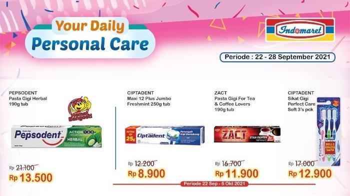 Hari Terakhir Promo Indomaret Super Hemat Edisi ke-38: Pepsodent Herbal 190g hanya Rp 13.500