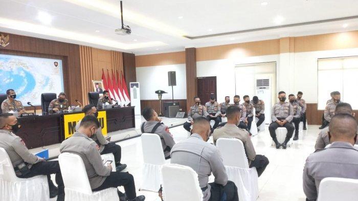 Puluhan Anggota Brimob & Sabhara Polda Maluku Disiapkan Jadi Tenaga Vaksinator
