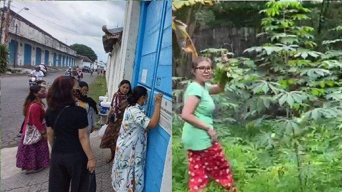 Viral Video Putri Raja Keraton Solo Mencari Daun Singkong dan Kayu Bakar untuk Makan karena Dikurung