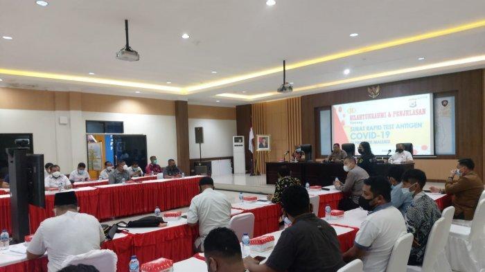 Dirkrimum Polda Maluku Harap Kasus Surat Rapid Antigen & GeNose Palsu Tak Terulang