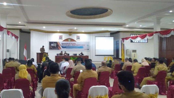 Pemkot Tual Gelar Konsultasi Publik Rancangan Awal RKPD 2022