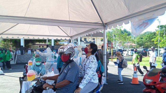Rapid Tes Antigen Bagi Masyarakat Sudah Dijalankan di Lapangan Tahapary