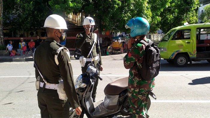 3 Anggota TNI Terjaring Operasi Gaktib& Yustisi