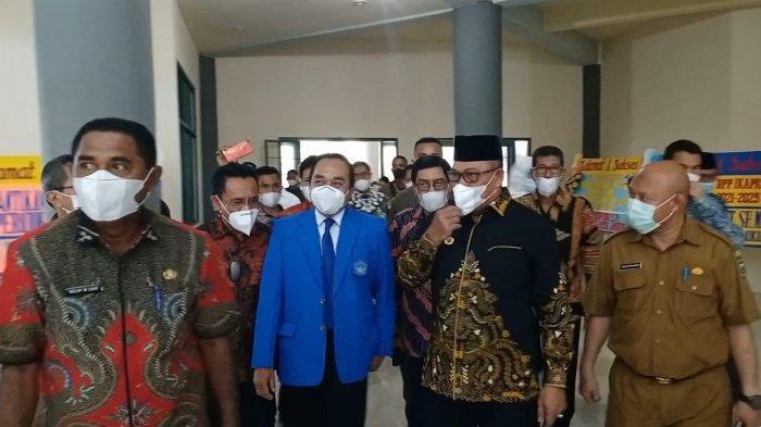Datangi Unpatti, Murad Ismail; Jangan Sambut Saya Seperti Presiden