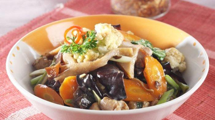 Resep Capcay Goreng Jamur, Menu Praktis untuk Temani Makan Malammu