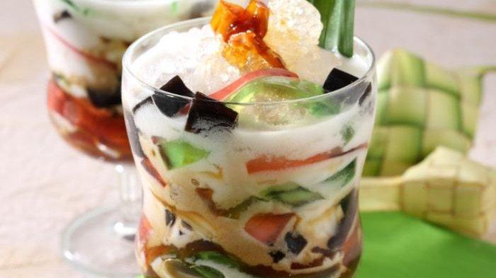 Resep Es Ceria Cendol Jeli, Minuman Manis dan Segar Siap Hadir di Momen Buka Puasamu