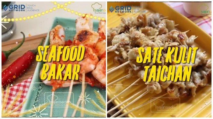 Resep Seafood Bakar dan Sate Kulit Taichan, Menu Spesial untuk Dinikmati di Malam Tahun Baru
