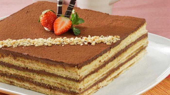 Resep Opera Cake Kukus Lembut, Perpaduan Kopi dan Coklatnya Siap Jadi Camilan Favorit untuk Keluarga