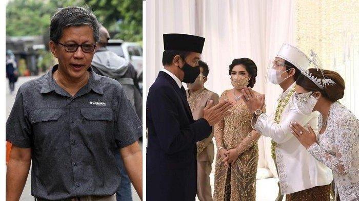 Jokowi Tuai Kritik Hadiri Pernikahan Atta-Aurel, Rocky Gerung Singgung Keamaan Terkait Teroris