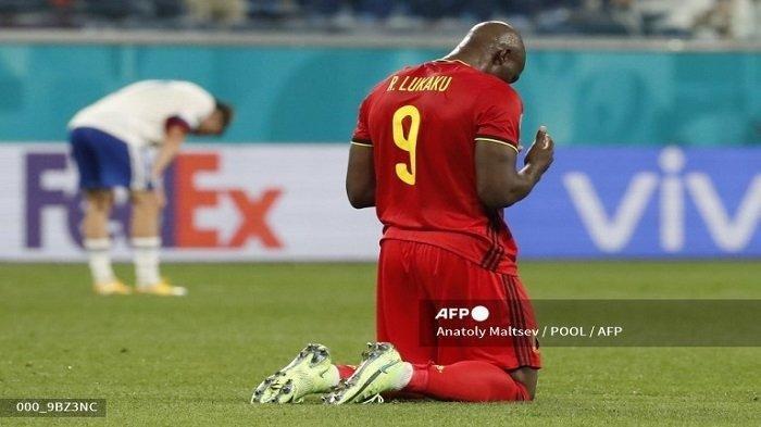 Hasil Euro 2020, Belgia Pecundangi Rusia, Berkat Romelu Lukaku
