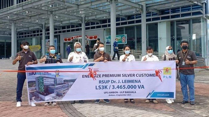 Hadirkan Keandalan Listrik Ditengah Pandemi, PLN Maluku-Malut Kuatkan Layanan di Sektor Kesehatan