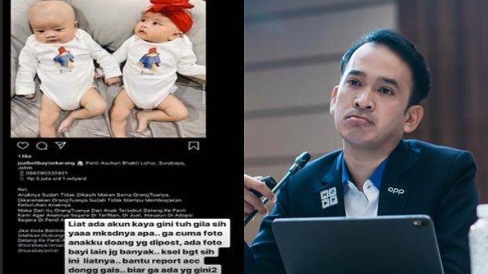 Foto Anak Kembar Syahnaz Masuk Akun Jual Beli Bayi, Ruben Onsu: Saran Saya Harus Dilaporin