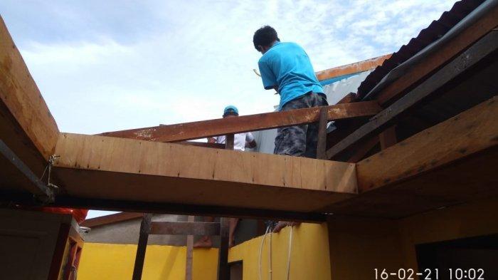 Angin Kencang Hantam Kota Ambon, Satu Rumah di Batu Merah Rusak