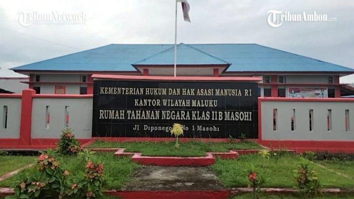 Over Kapasitas, 10 Tahanan Rutan Kelas IIB Masohi Dipenjara di Rumah