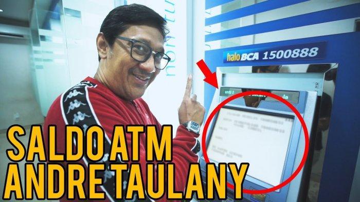 Pamer Saldo ATM Andre Taulany Mencengangkan: Gua kalau udah songong lebih songong dari lu semua!