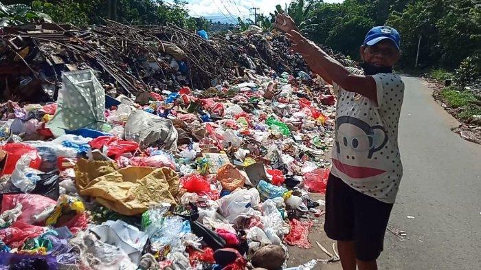 Sampah Menumpuk di Ahuru, DLHP; Kita Terkendala Armada