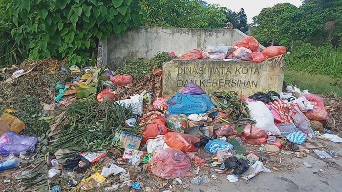 Sampah Menumpuk di Komplek BTN SMA 1 Namlea hingga Timbulkan Bau Busuk, Warga Minta Tambah TPS