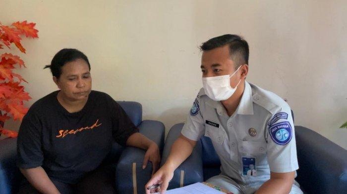 Jasa Raharja Serahkan Santunan Rp 50 Juta ke Ahli Waris Korban Kecelakaan Alm Dominggus Pattipeiruhu