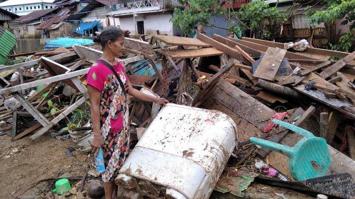 Cerita Sarah, Lansia Korban Banjir Batu Merah Ambon, Rumah Rata Dengan Tanah