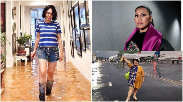 Sederet Rumah Artis Turut Terendam Banjir, Evi Masamba, Rian D'Masiv hingga Yuni Shara