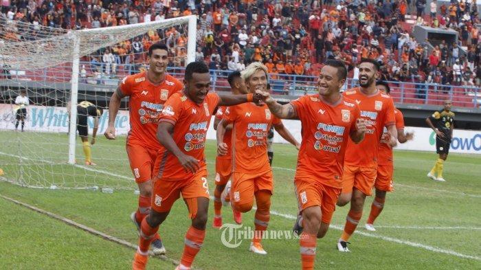 Badak Lampung FC vs Borneo FC Liga 1 2019, Kedua Tim Sama Kuat, Skor Imbang 1-1