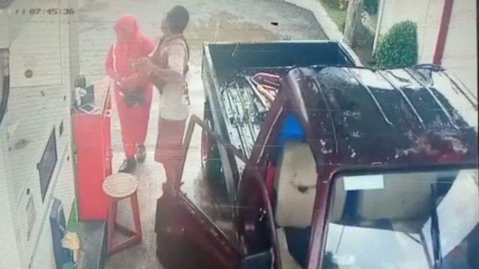Sopir Pick Up Tampar Perempuan Petugas SPBU, Korban Cabut Laporan saat Video Viral karena Tak Tega