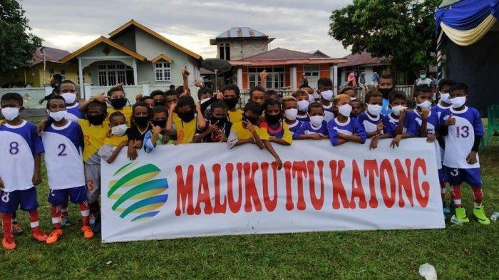Bangun Persaudaraan Orang Maluku Sejak Dini,  BMG Gelar Festival Sepak Bola