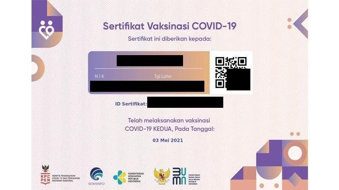 Cara Mendapatkan Sertifikat Vaksinasi Covid-19, Download di pedulilindungi.id