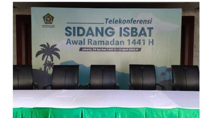 Live Streaming Sidang Isbat Hasil Pengamatan Hilal Penentu Awal Puasa 1 Ramadan 1441 Hijriah
