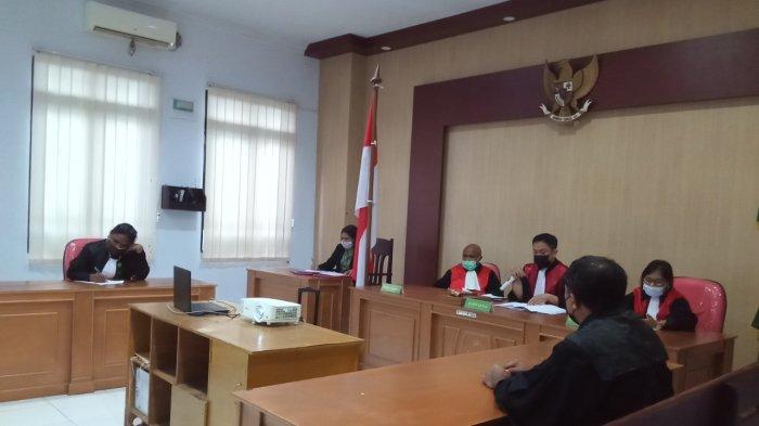 Usai Nyabu di Hotel Pasific Ambon, Dua Sejoli Dituntut 2,6 Tahun Penjara