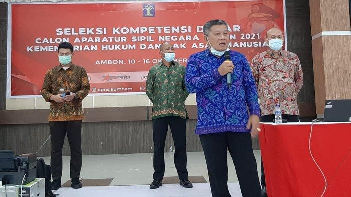 900 Peserta Ikut Tes CPNS Kemenkumham Maluku Hari Pertama