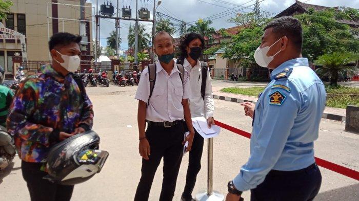 11 Peserta Gugur di Kesi Kedua Tes CPNS Kemenkumham Maluku Hari Ketiga