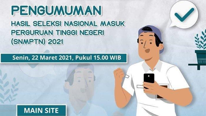 LINK ALTERNATIF Pengumuman SNMPTN 2021 Selain pengumuman-snmptn.ltmpt.ac.id