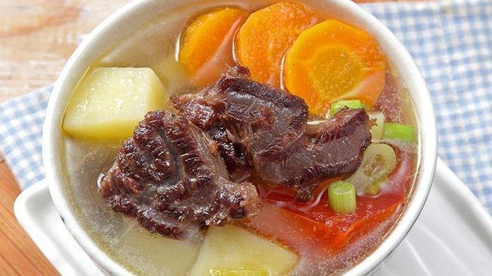 Resep dan Cara Membuat Sop Daging Goreng, Cocok untuk Manfaatkan Daging Kurban