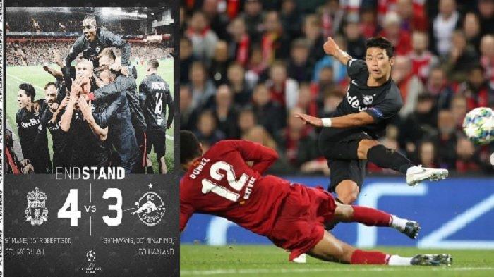 Permalukan Pemain Terbaik Eropa, Ini Sosok Hwang yang Gocek Van Dijk dan Jebol Gawang Liverpool