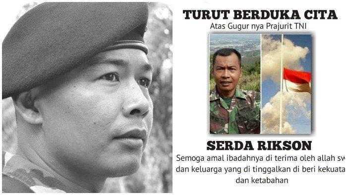 Bukti Serda Rikson Gugur Jaga Gudang Senjata Rusuh di Papua, Perusuh Incar Senjata dan Aparat Lagi?