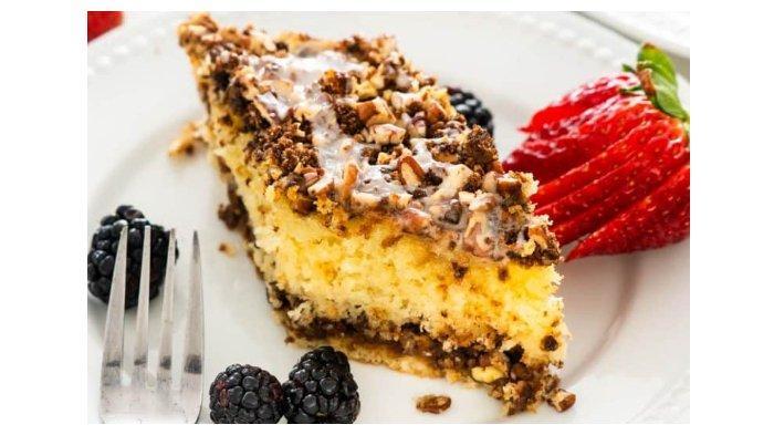 Resep Sour Cream Coffee Cake Kue Klasik dengan Taburan Kayu Manis, Kacang, dan Gula Merah