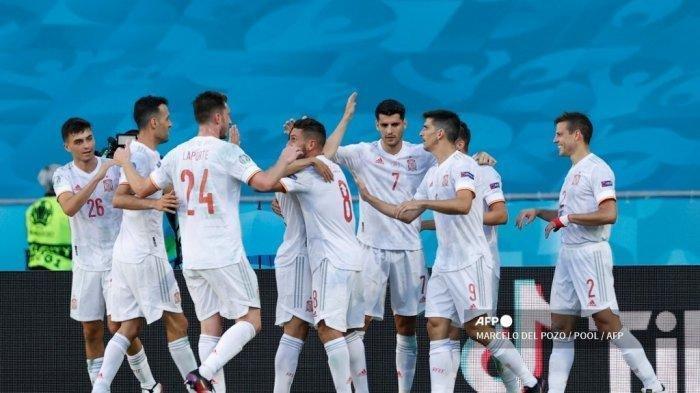 Hasil Euro 2021 - Spanyol Melenggang ke 16 Besar, Gawang Slovakia Dibantai Habis-habisan
