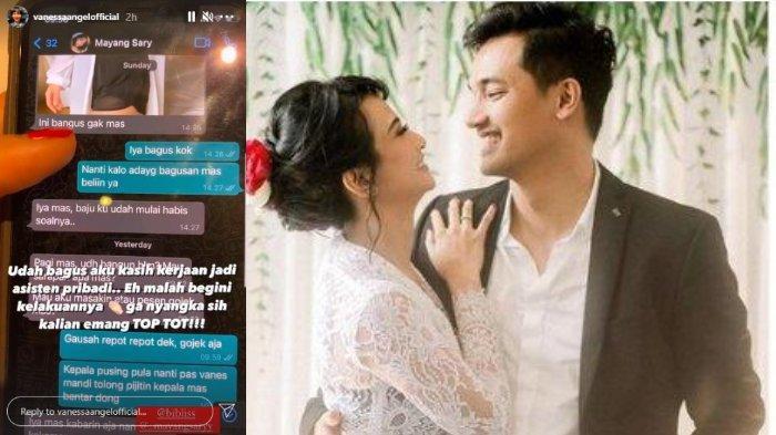 Vanessa Angel Unggah Chat WA Bibi Ardiansyah dengan Mayang Sary Singgung soal Pelakor, Diselingkuhi?