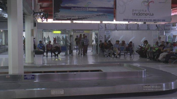 Hari Terakhir Larangan Mudik, Jumlah Penumpang Bandara Internasional Pattimura Hampir 500 Orang