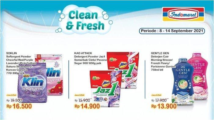 Hari Terakhir Promo Indomaret Super Hemat 21 September 2021: Soklin Softergent 770/800 g Rp 16.500